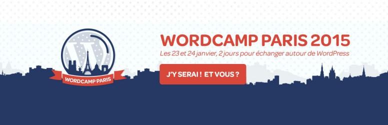 WordCamp – Paris – 23 Janv 2015