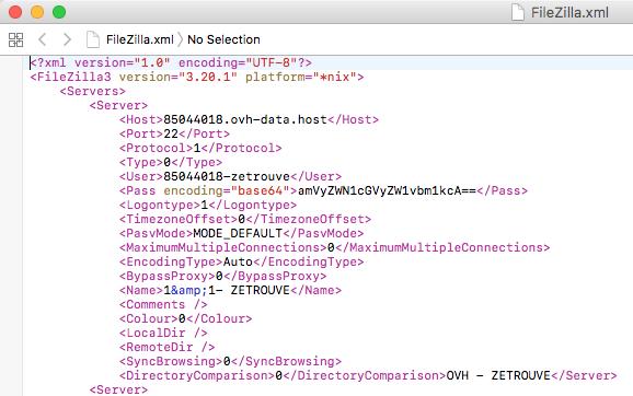 Comment Récupérer Un Mot De Passe FileZilla Sur Mac Osx Ou PC ?